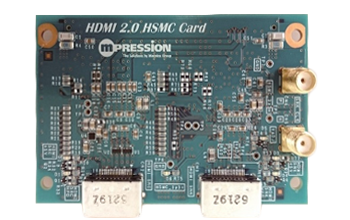 HDMI 2.0 HSMC CARD (Front)