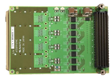 SFP+ x4 FMC Card | Mpression