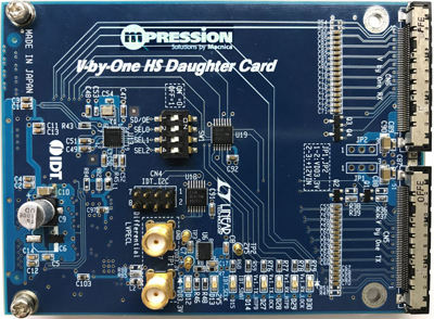 V-by-One HS HSMC Card